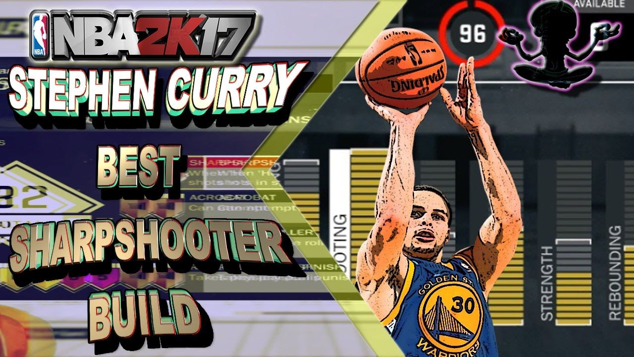 STEPHEN CURRY SHARPSHOOTER BUILD | BEST SHARPSHOOTER BUILD IN NBA