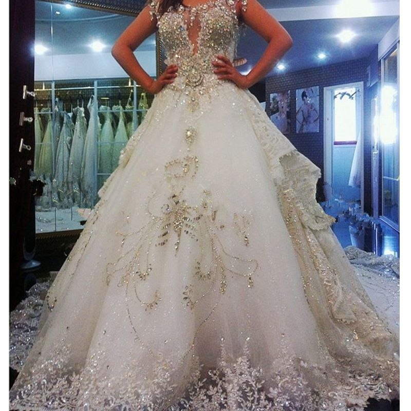 Expensive Lavish Wedding Dresses Online Get Cheap Expensive Ball Gowns Aliexpress Com Expensive Wedding Dress Sparkle Wedding Dress Satin Bridal Gowns