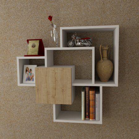 SWEET Mensola da muro - Bianco - Mensola Parete - Mensola Libreria ...