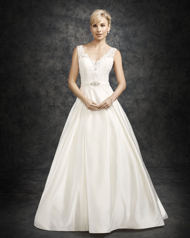 Ella Rosa BE20   Wedding dresses satin, Wedding dresses, Dresses