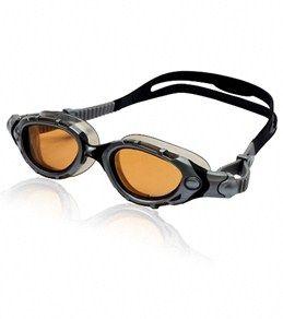 ce3b6431c08 Zoggs Predator Flex Polarized S M Goggles - Silver Black Bronze ...