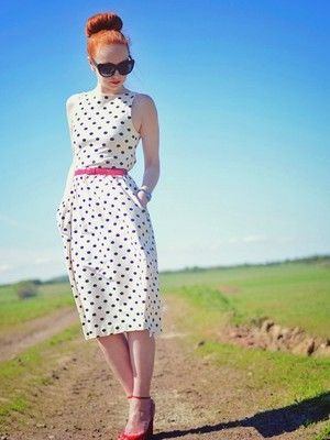 Wear polka Dots With Dots Accessories