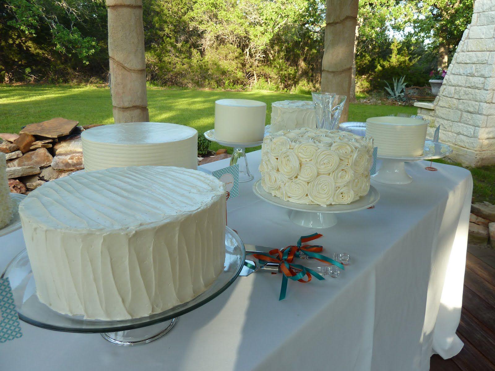 White Wedding Cakes!