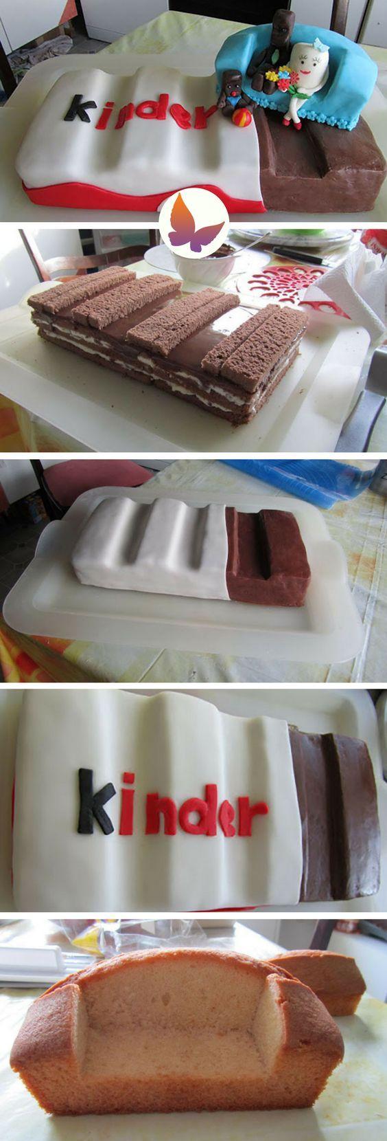 Riesen Kinder-Riegel Torte