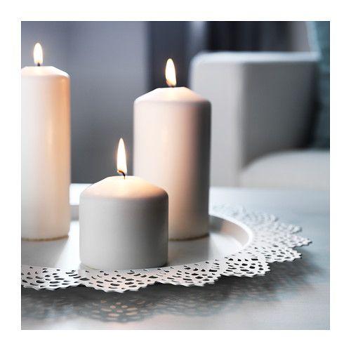 skurar plat pour bougie blanc ikea bougies et plat. Black Bedroom Furniture Sets. Home Design Ideas
