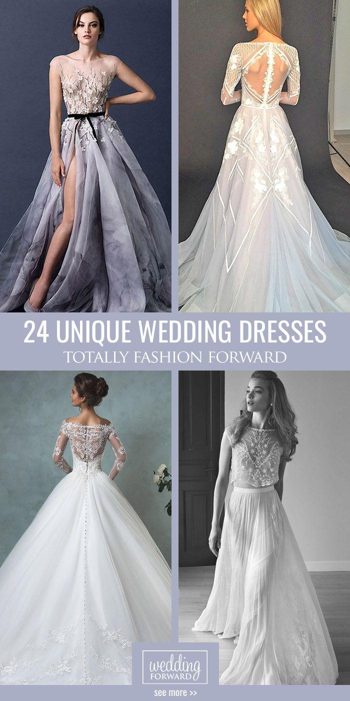 Trendy wedding dresses   Totally Unique Fashion Forward Wedding Dresses  Weddings