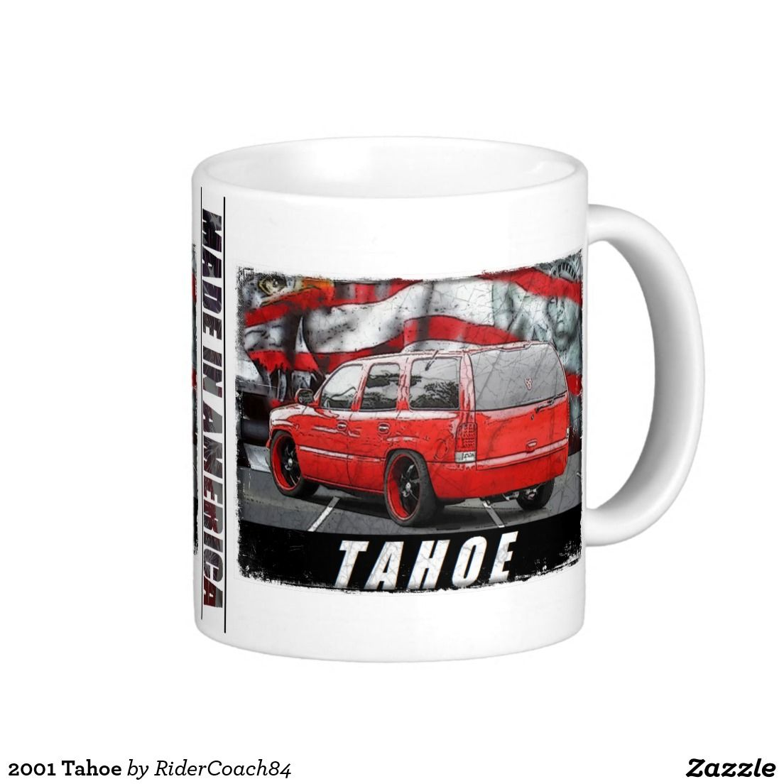 2001 Tahoe Coffee Mug