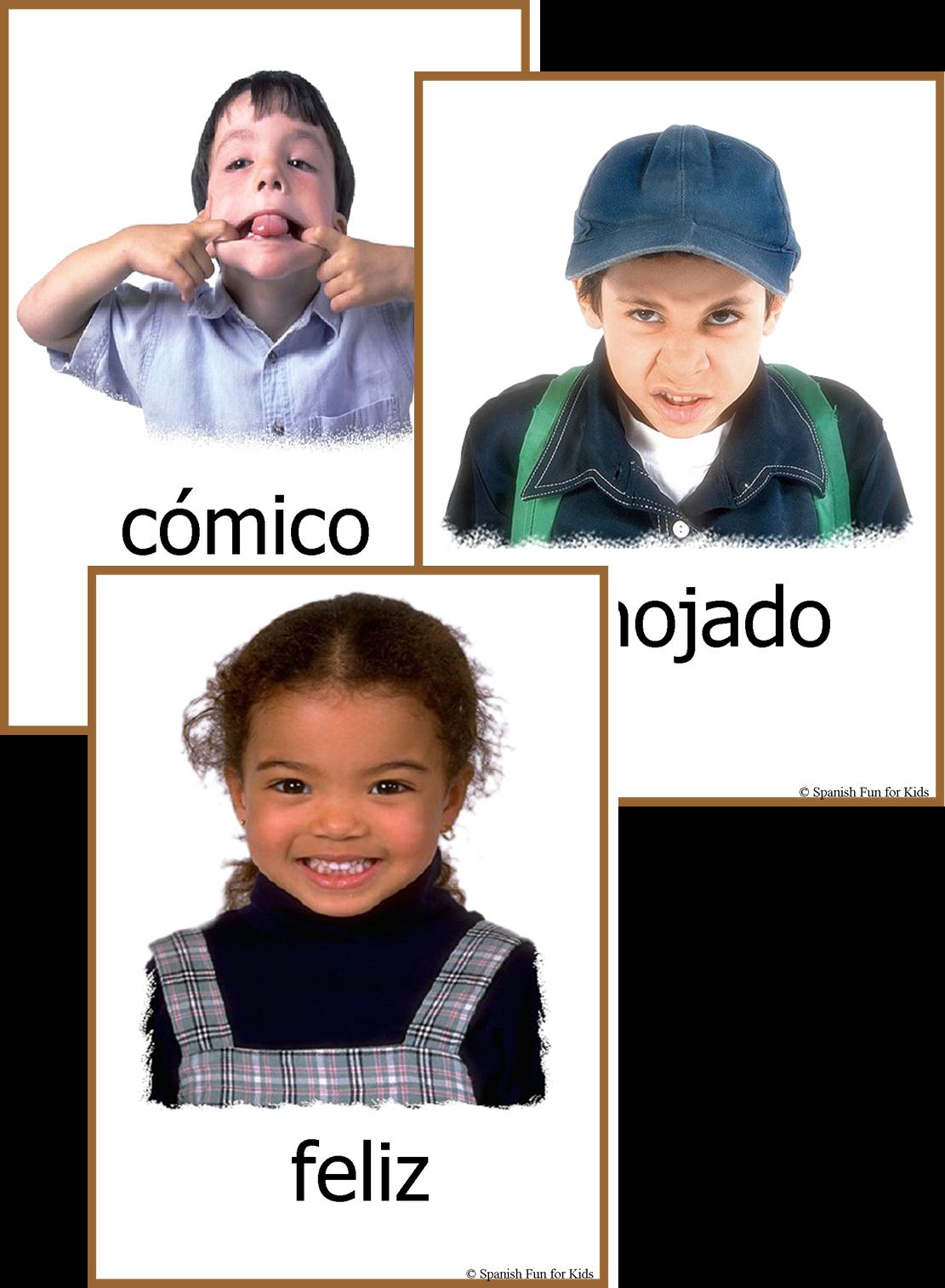 Caritas Fun Activities For Teaching Emotions In Spanish