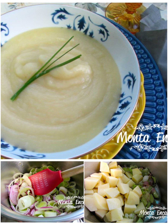 Sopa de batata e alho por sopas e cremes pinterest for Comida francesa famosa