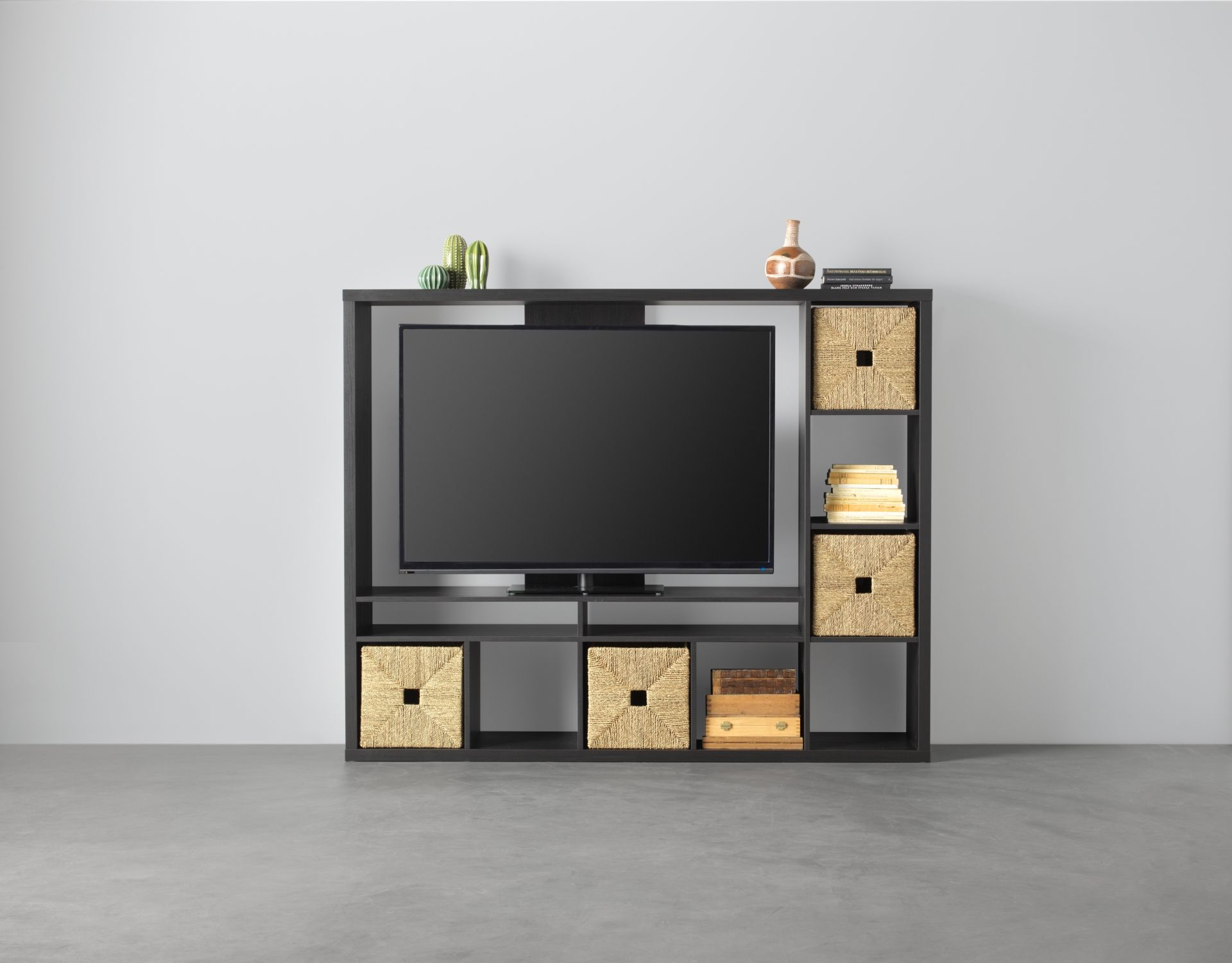 Tv Meubel Expedit Ikea.Tv Meubel Lappland Zwartbruin Swedish In 2019 Ikea Living Room