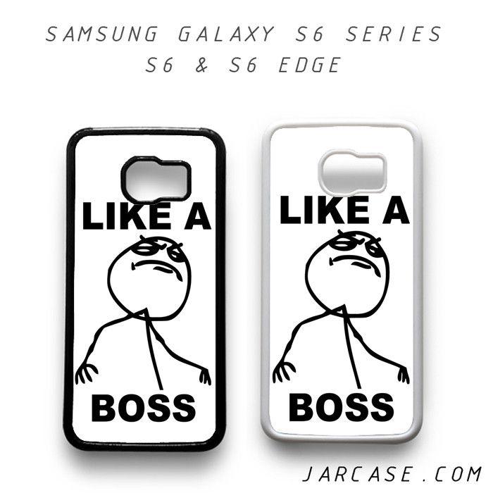 like a boss meme Phone case for samsung galaxy S6 & S6 EDGE