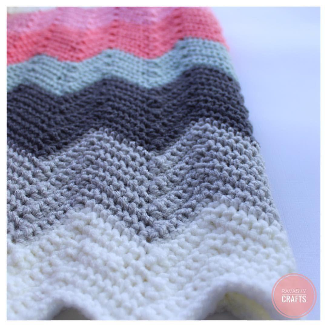 Double Crochet Chevron Blanket Pattern Awesome Ideas