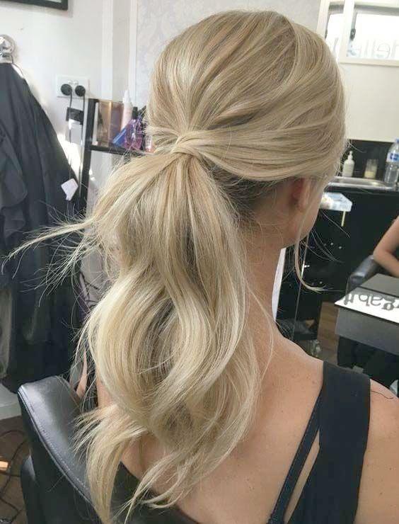 Wedding Hairstyles Near Me Chic Elegant Wedding Hairstyles Messy Ponytail Hairstyles Guest Hair Hair Styles
