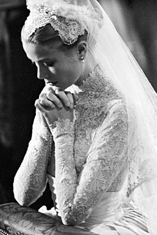 Photo of Grace Kelly Grace wanted a wedding …