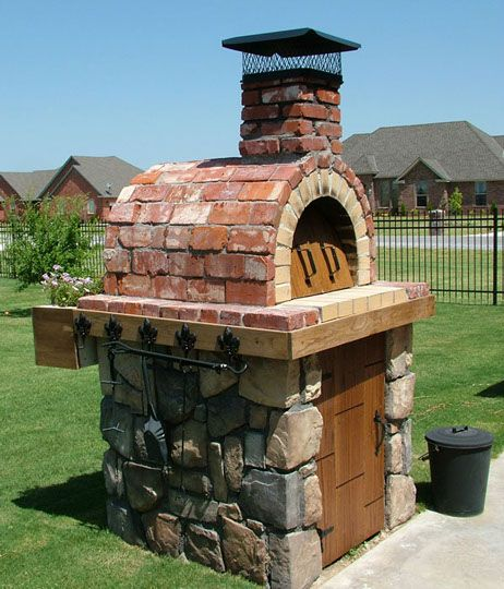 Pizza Oven Outdoor Diy Backyards