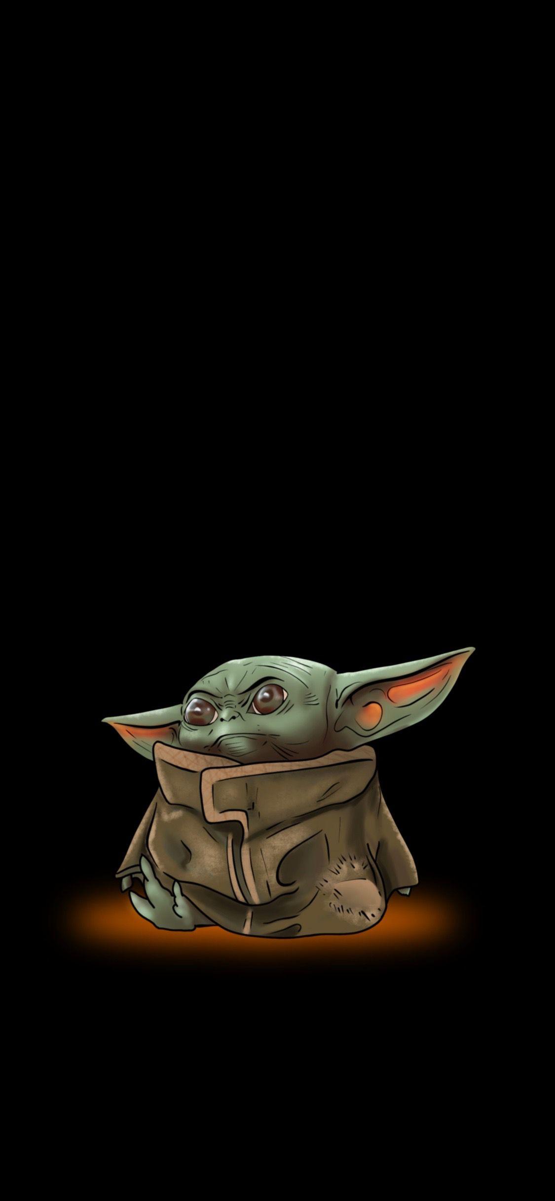 Baby Yoda Illustration Yoda Wallpaper Star Wars Art Yoda Art