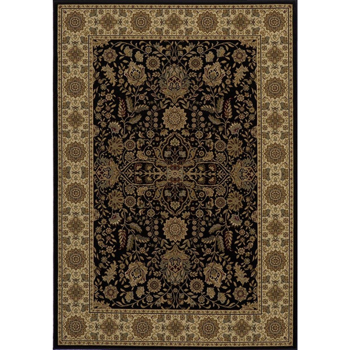 Momeni Momeni Royal Collection Rug in Black
