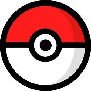 Pokeball Outline Pokemon Party Pokeball Pokemon Go