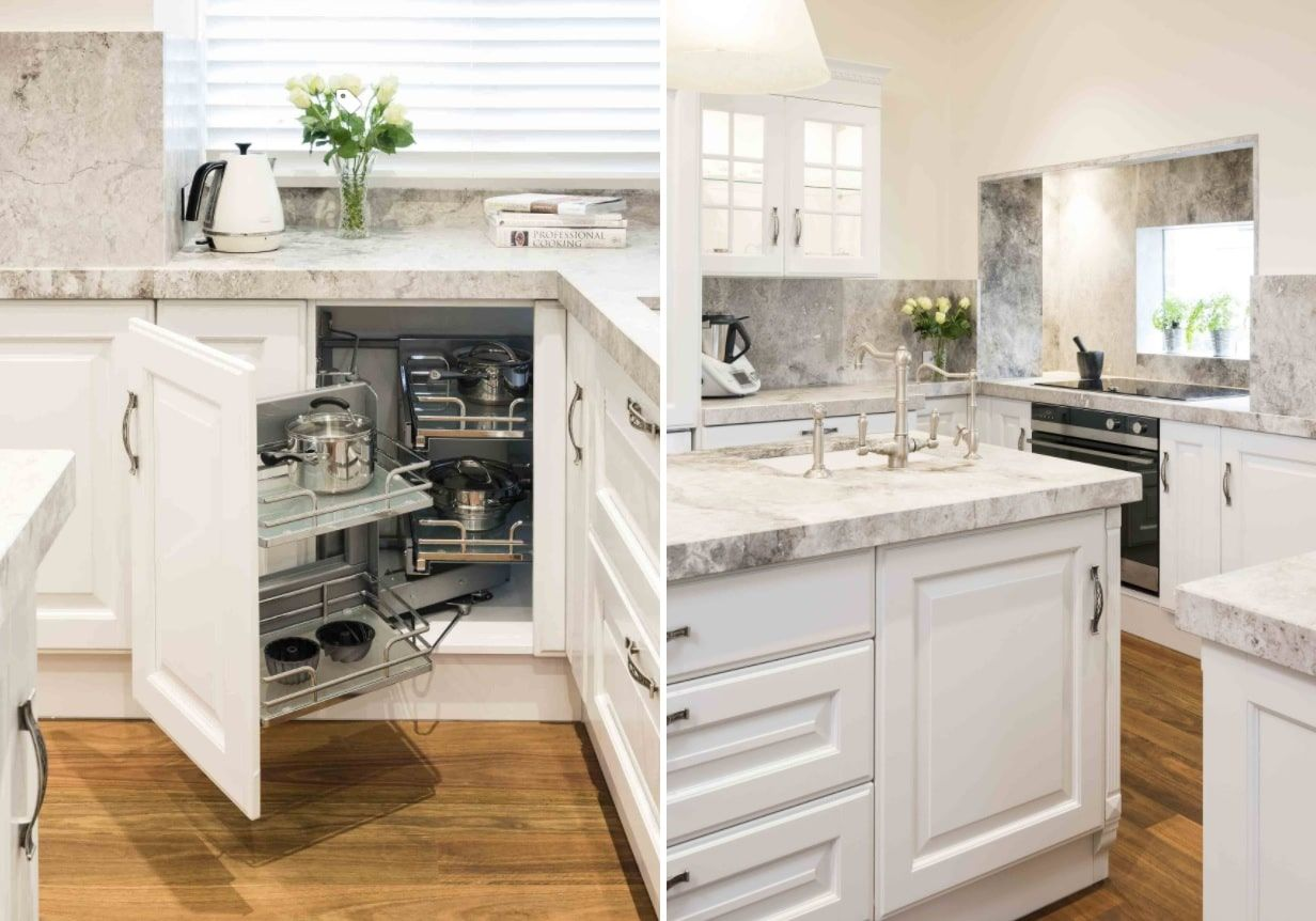 51 clever storage hacks to maximize small kitchens kitchen corner storage corner kitchen on kitchen cabinets corner id=79470