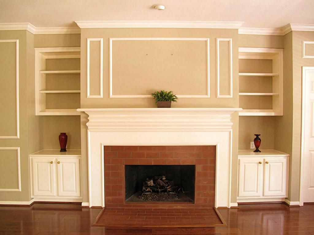 bumpout for fireplace - closet behind?! | Decorating Ideas | Pinterest