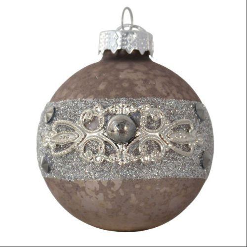 Glas-Weihnachtbaumskugeln-Antique-6cm-4er-Set
