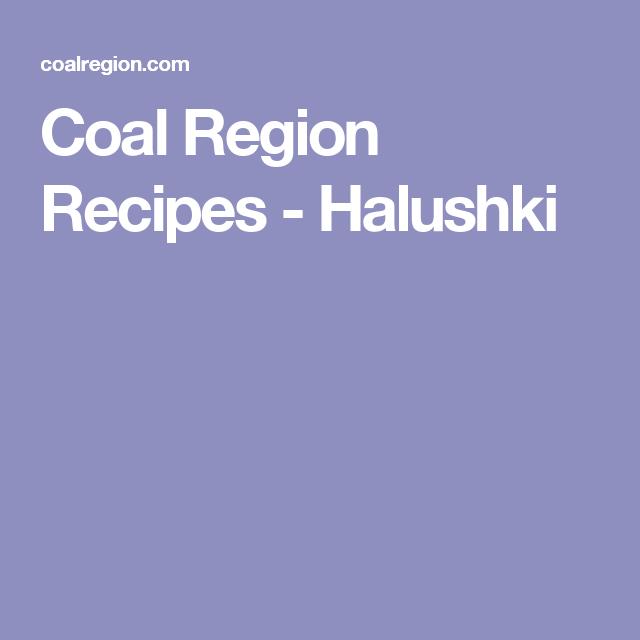 Photo of Coal Region Recipes – Halushki