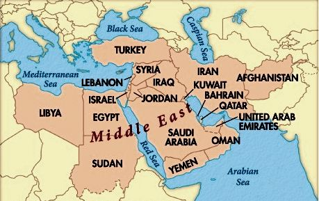 Arab Muslim Hears Jesus Voice And Accepts Him Middle East Map