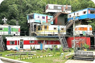 Redneck Trailer Park...It's all about location, location, location!