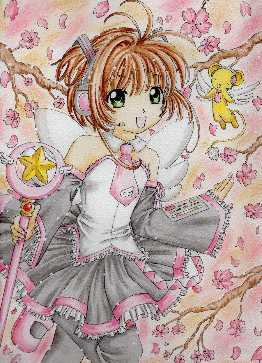 Vocaloid Cardcaptor Sakura by Dawnie-chan.deviantart.com on @deviantART