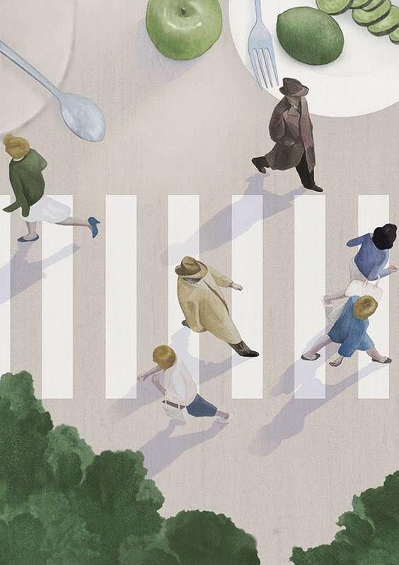 Hsiao Ron Cheng Lifestyle Illustration Illustration
