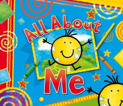 All About Me Record Book and Photo Album by Angie Hicks