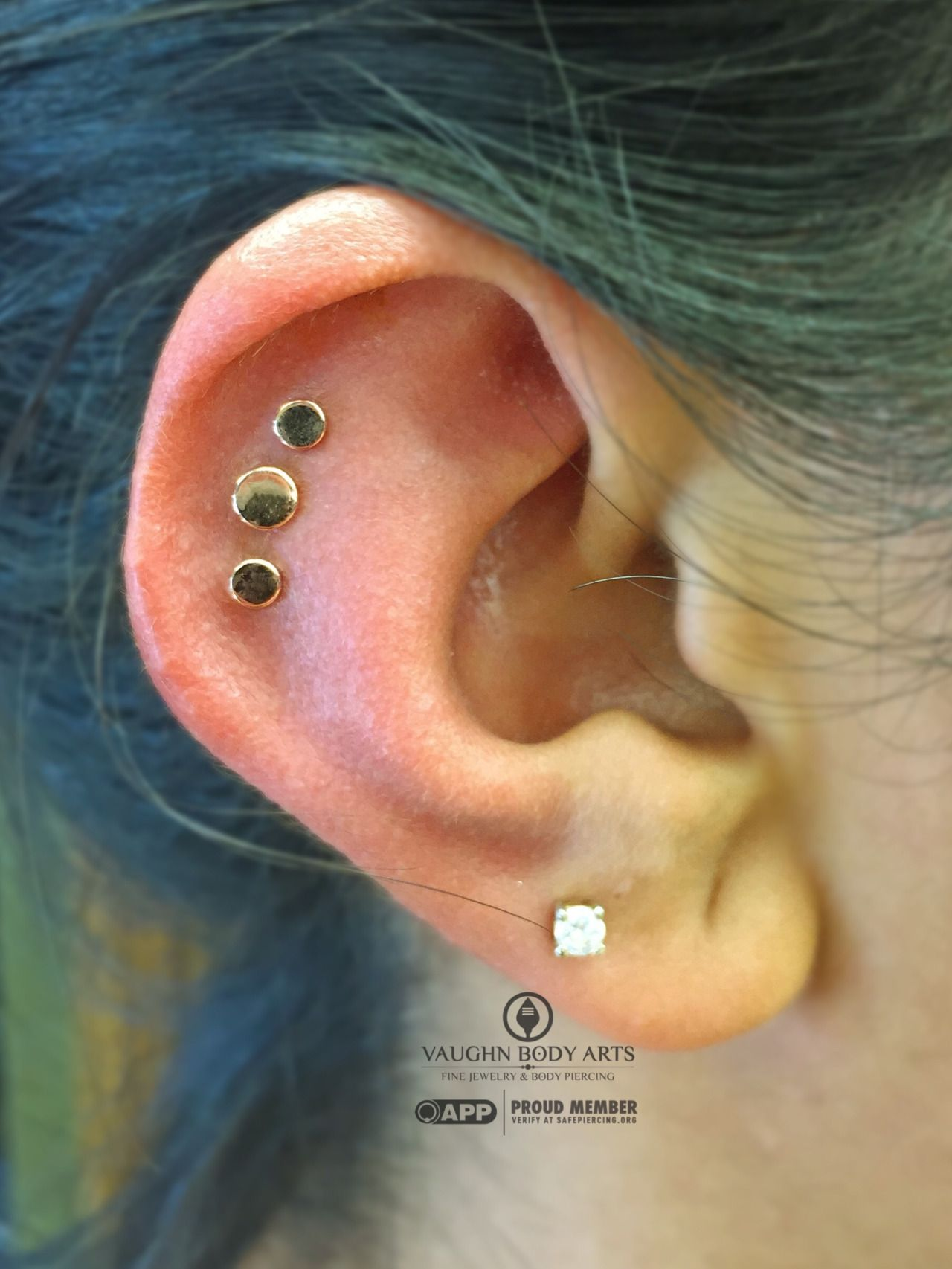 Ear piercing ideas simple  We had a super fun day at the studio Thanks a bunch to all of our