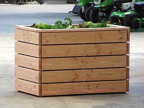 Planter Douglas Fir 200 X 100 X 84 Cm Barra Para Cafeteria Macetas Decoraciones De Casa