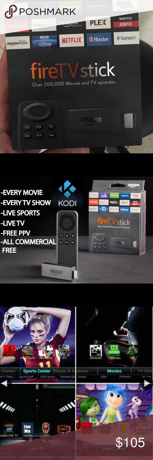 Jailbroken Firestick with Kodi- Never pay again! Unlocked Amazon Firestick  with Kodi. Watch