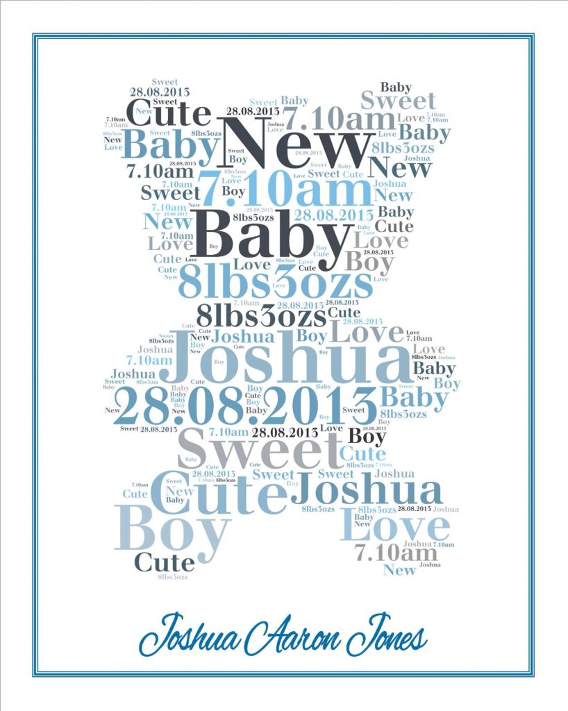Another Name For A Baby Shower Part - 31: Another Baby Name Present Idea