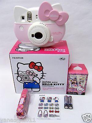 New Sanrio Hello Kitty Instax Mini Instant Camera From Japan FUJIFILM