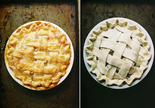 Rhubarb Pie by yossy | apt2bbakingco, via Flickr