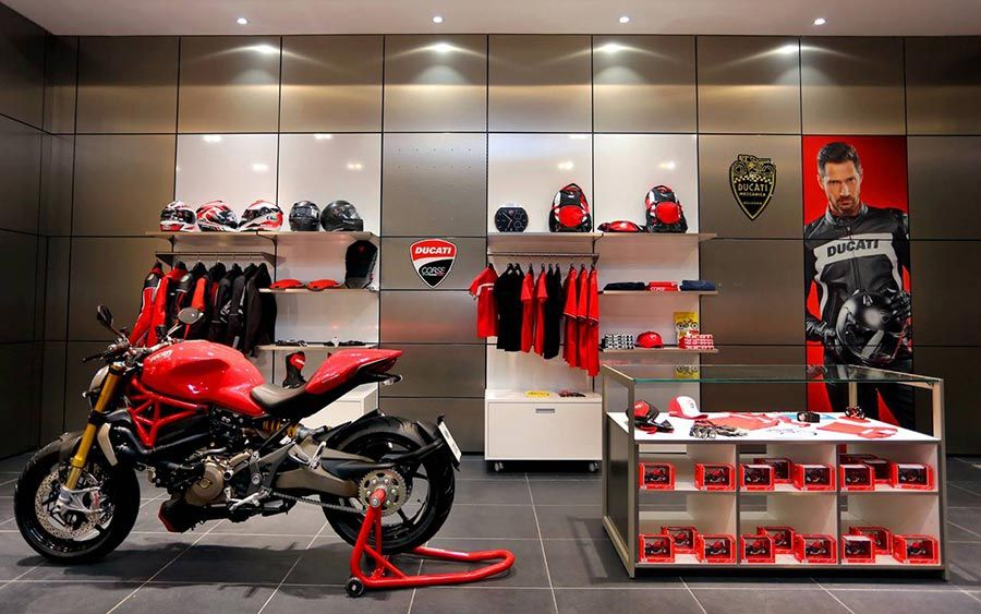 Ducati opens new dealership in Bangalore http//blog