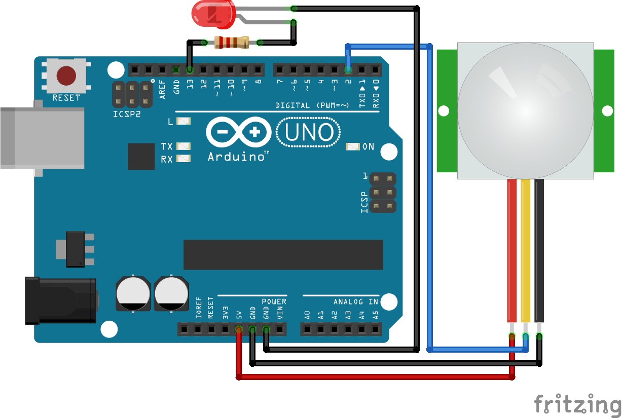 Learn How To Interface Pir Sensor With Arduino Motion Build A Hall Effect Circuit Working Principle