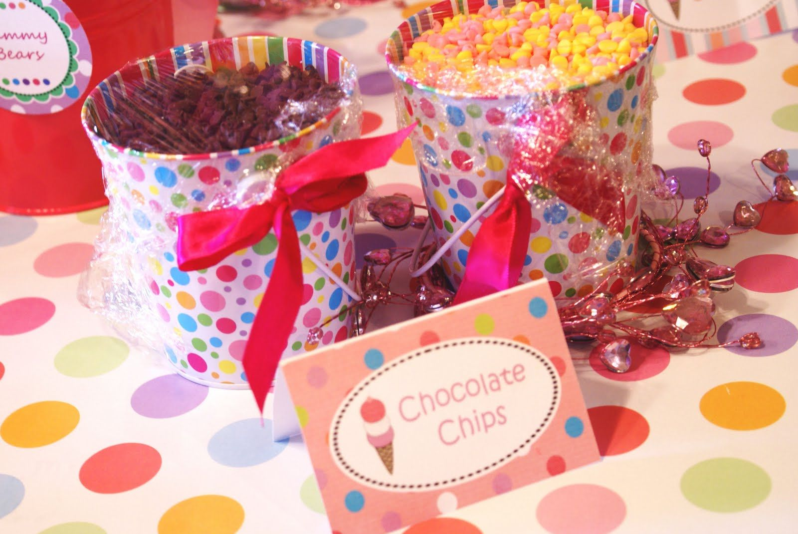 Anne\'s Vinyl and so much more!: Ice cream Sundae Birthday party ...