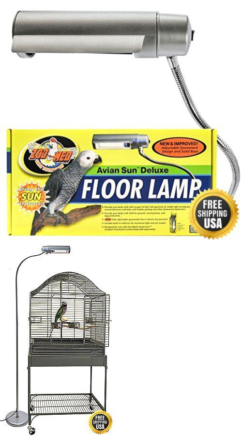Other bird supplies 3211 zoo med aviansun deluxe floor pet lamp other bird supplies 3211 zoo med aviansun deluxe floor pet lamp new buy it now mozeypictures Gallery