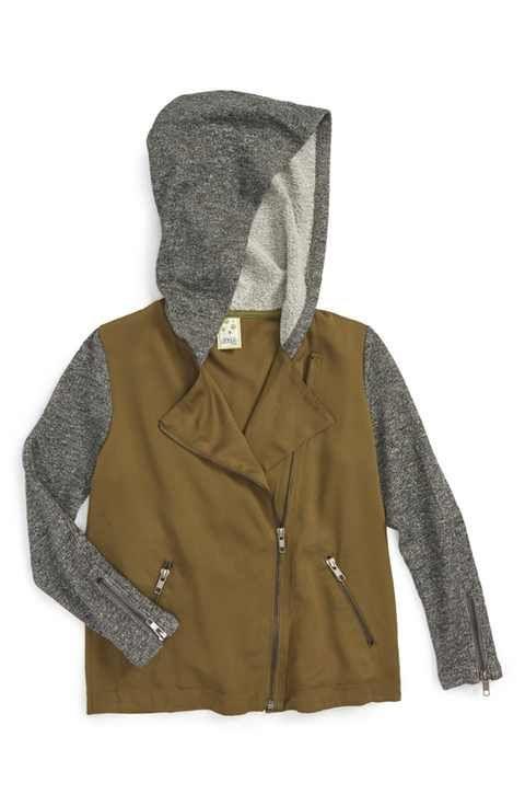 Kiddo Hooded Jacket (Big Girls)