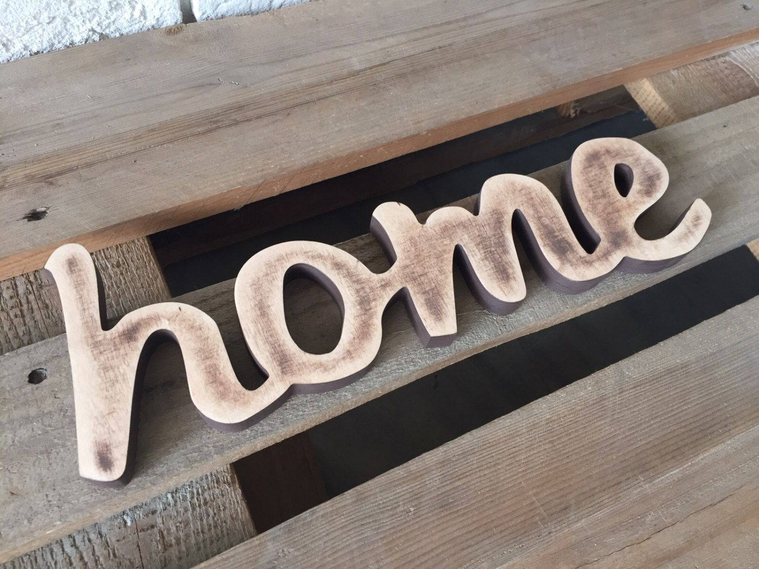 Kitchen Letters For Wall Entryway Sign Home Freestanding Wooden Letters Entry Decor