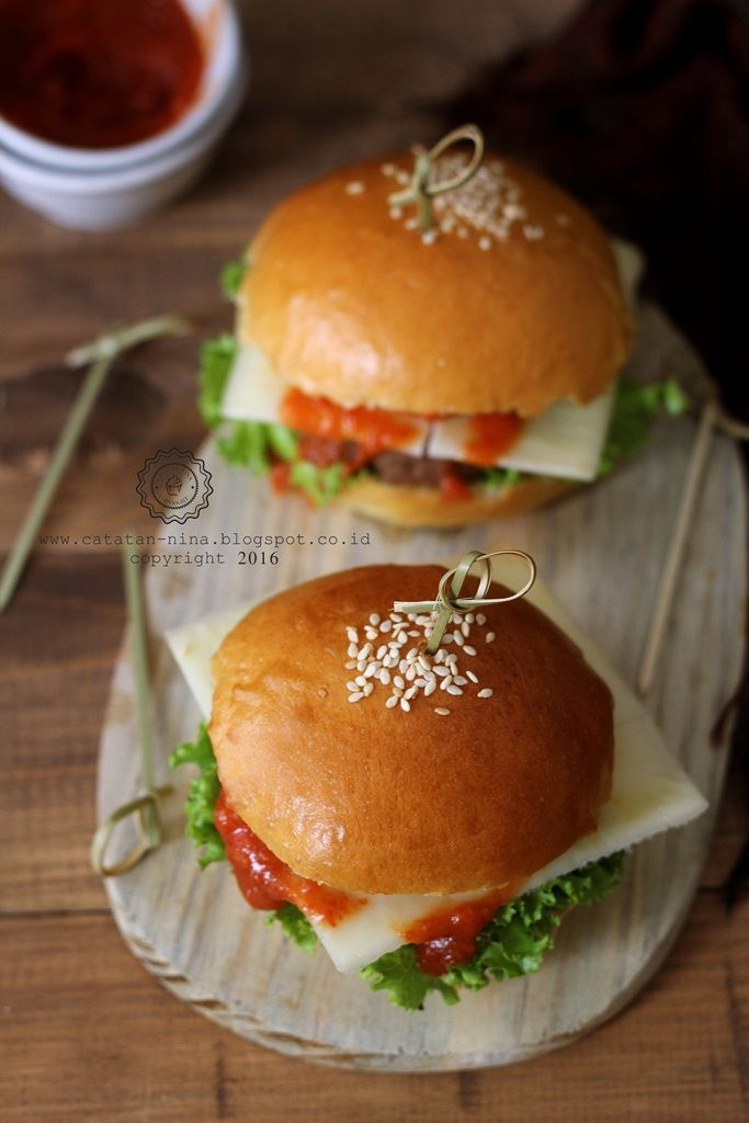 Catatan Nina Homemade Beef Burger Resep Burger Resep Masakan Masakan
