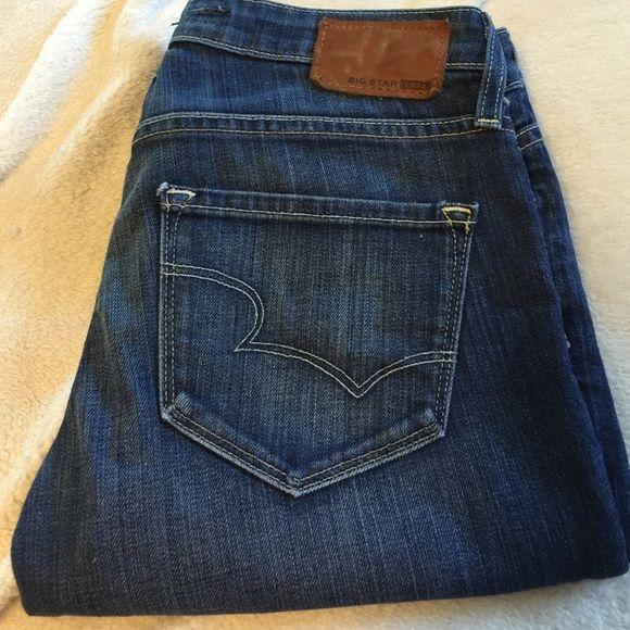 Big star hazel boot Big star hazel boot cut jeans size 27x31.5.  99% cotton 1% spandex Big Jeans