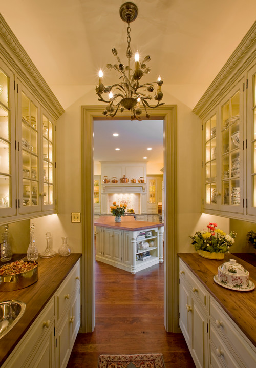 10 Butler's Pantry Ideas - Town & Country Living #largepantryideas
