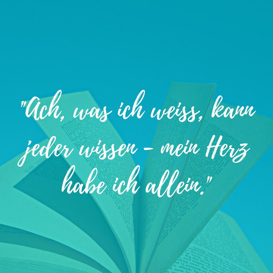 Wissen Zitat Herz Kapiert Goethe Zitate Herz Zitate Deutsch Unterricht
