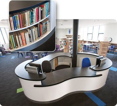 Library Furniture Circulation Desks