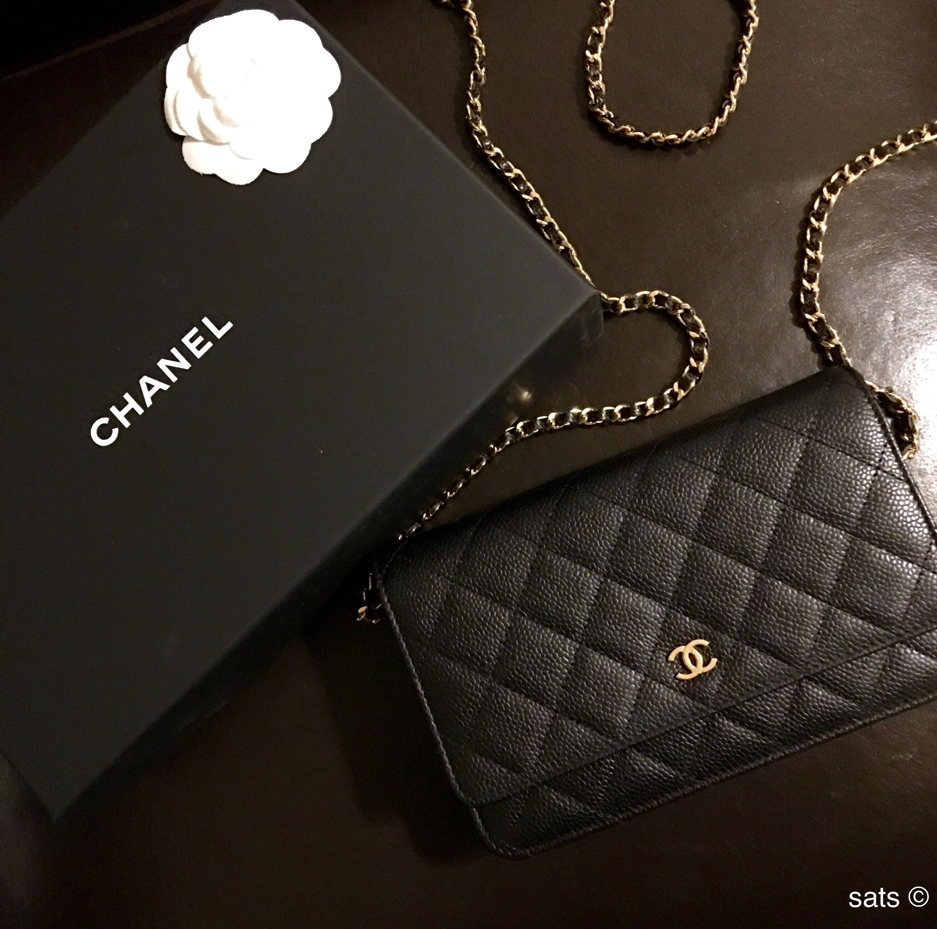 443b6289609402 Chanel black caviar woc ghw bag #timeless❤ | My Style in 2019 ...