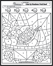 Color By Number Coloring Pages Shape Coloring Pages Coloring Pages Spring Coloring Pages